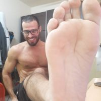 my big feet